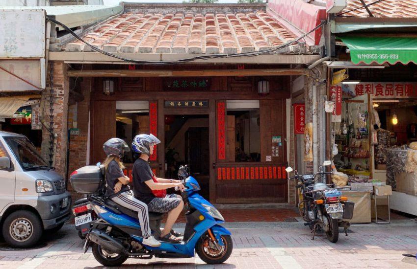 台北大稻埕街景