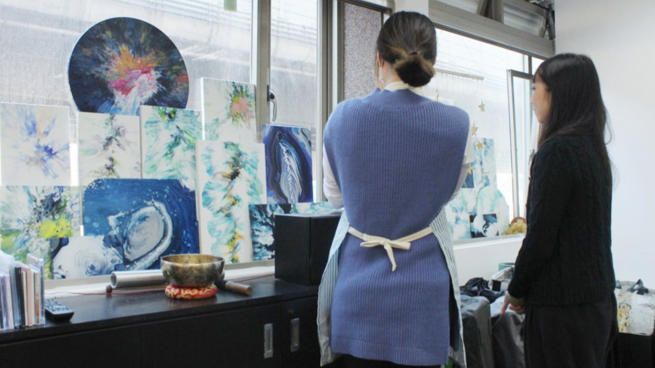 【流動畫體驗|浮流藝術工作室】放下煩躁,來一場療癒系藝術創作吧!
