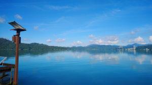 日月潭湖景