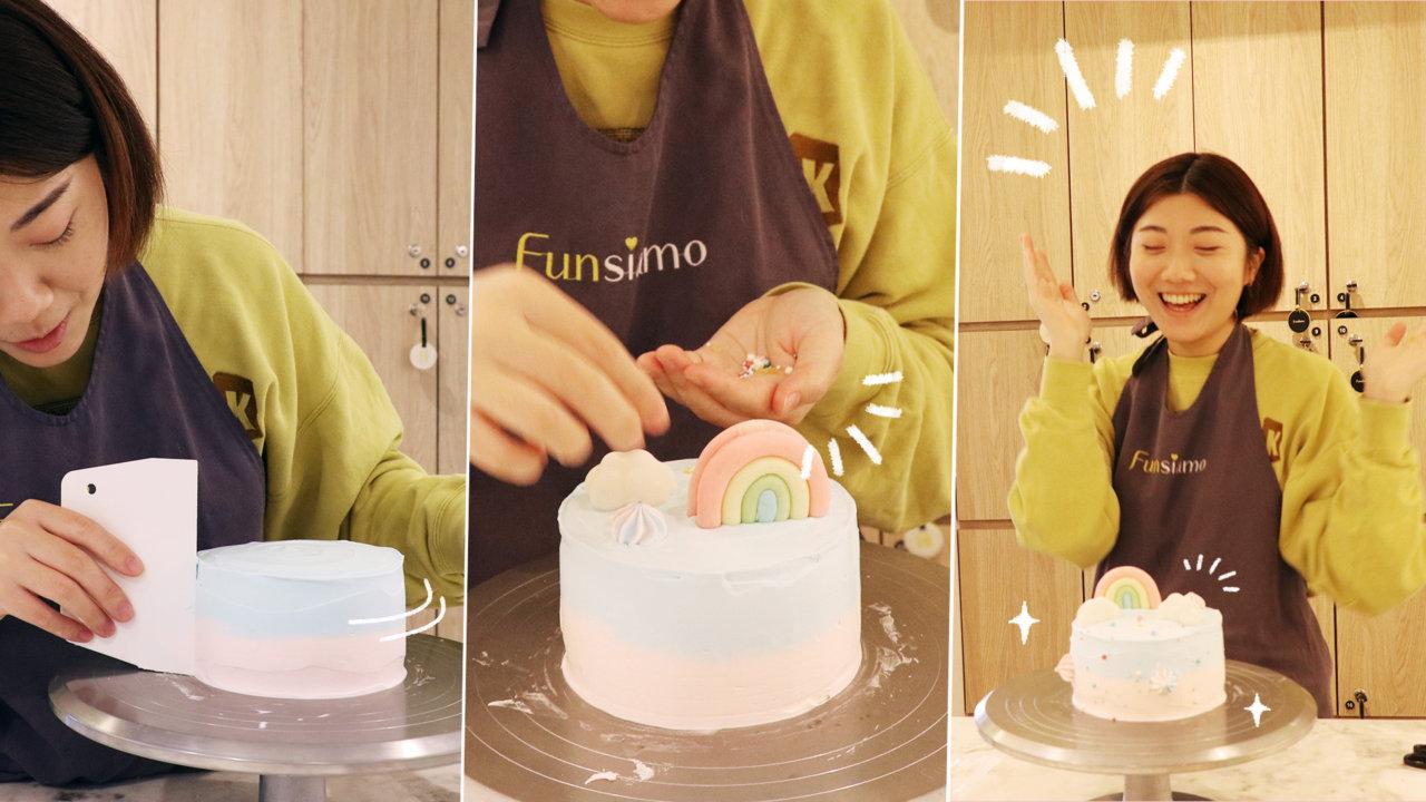 【台北質感烘焙體驗】Funsiamo 甜點 DIY 教室開箱|夢幻甜點等你來玩!