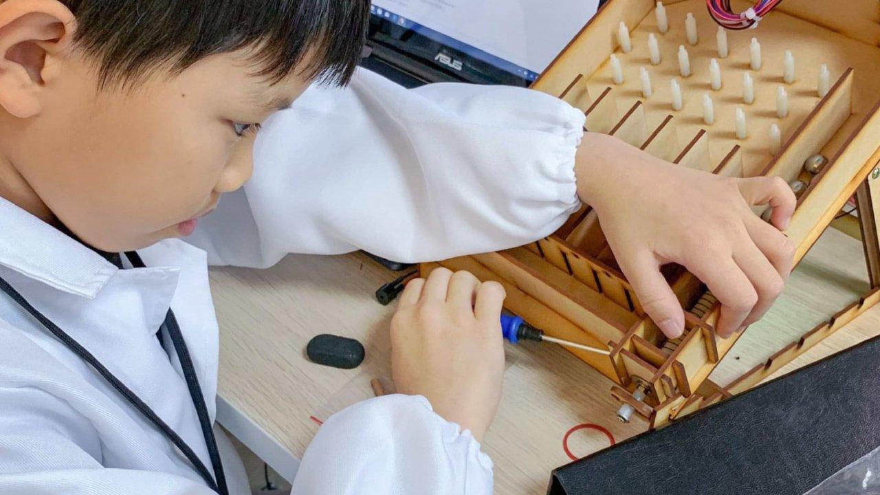 【升1~6年級|輕鬆隨時線上學】超神力空中樂園:工程創客/藝術設計