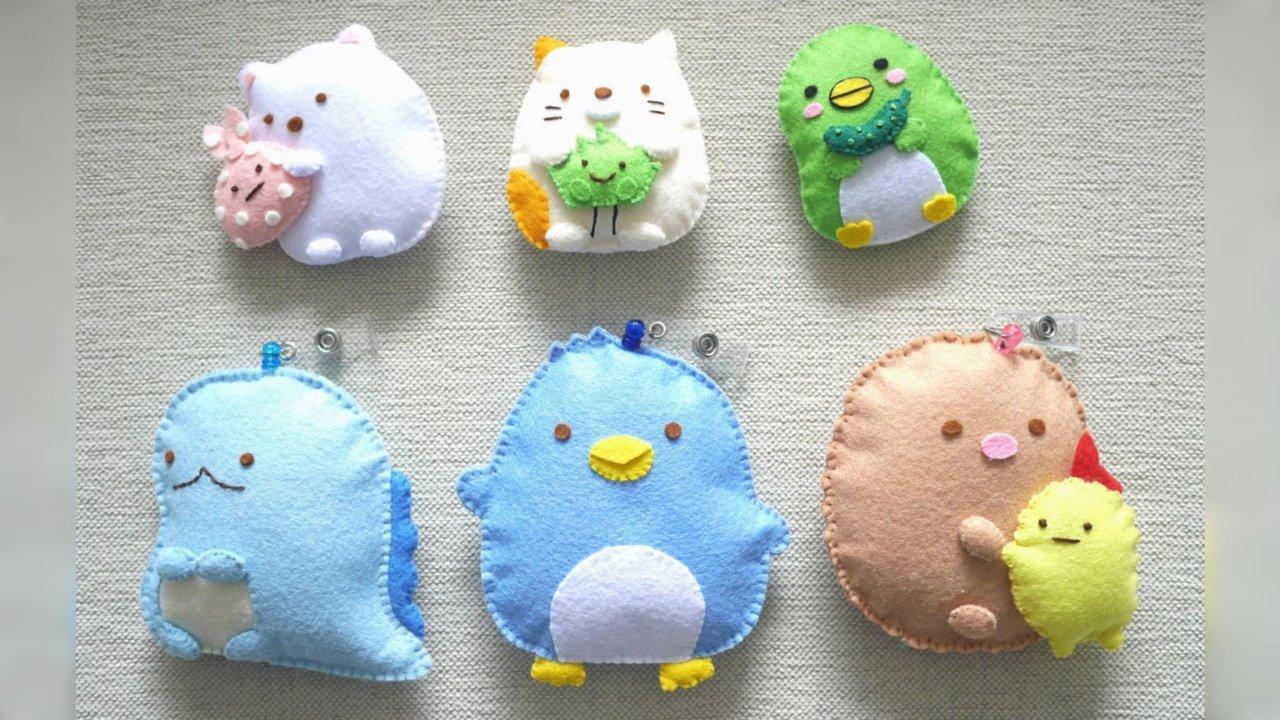 mini Fun Cafe|【角落生物不織布玩偶】材料包