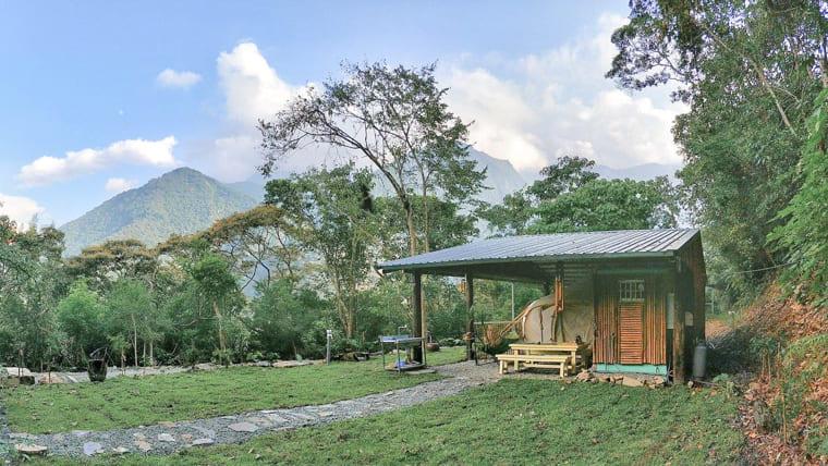 入住部落神話帳:綠色山谷秘境,私人獨立露營區(太陽、星星、月亮)