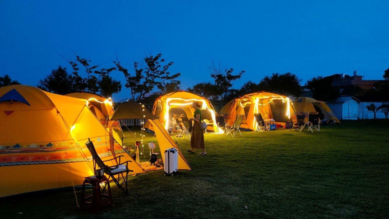 【桃園大園】卡果牧場免裝備懶人輕鬆露營|城市中的小秘境